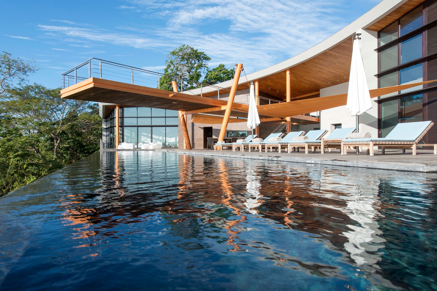Barnes Coy Architects and SARCO Architects Jointly Design a Private Residence in Papagayo Peninsula, Costa Rica