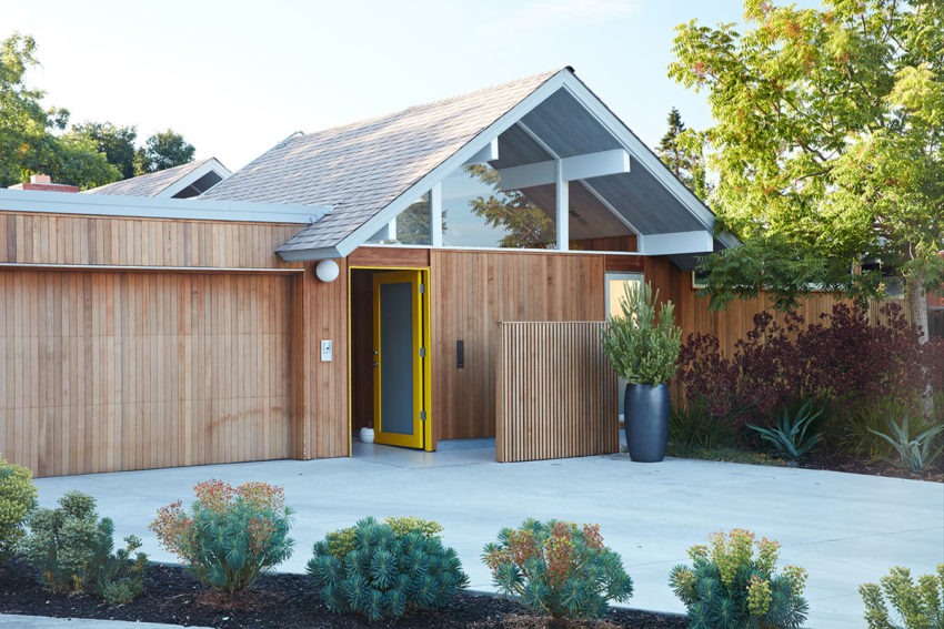 Mountain View Double Gable Eichler by Klopf Architecture (2)