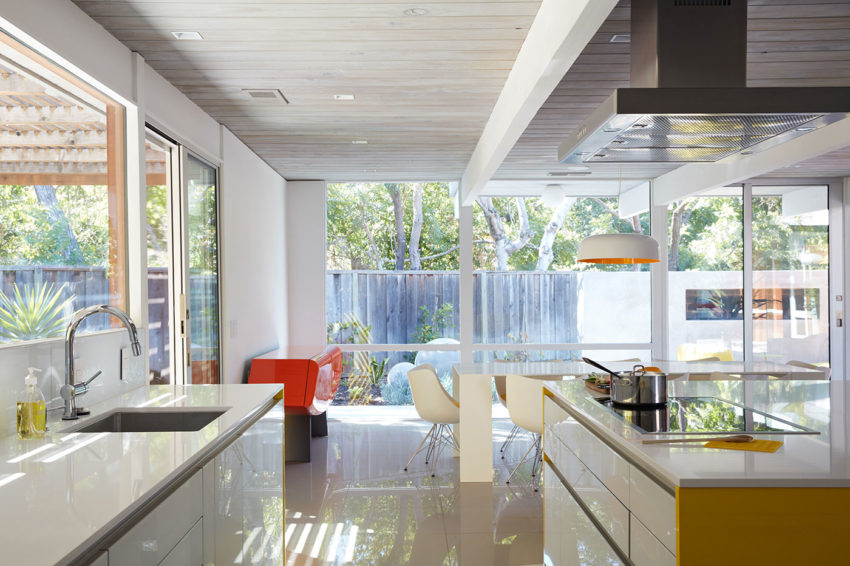 Mountain View Double Gable Eichler by Klopf Architecture (12)