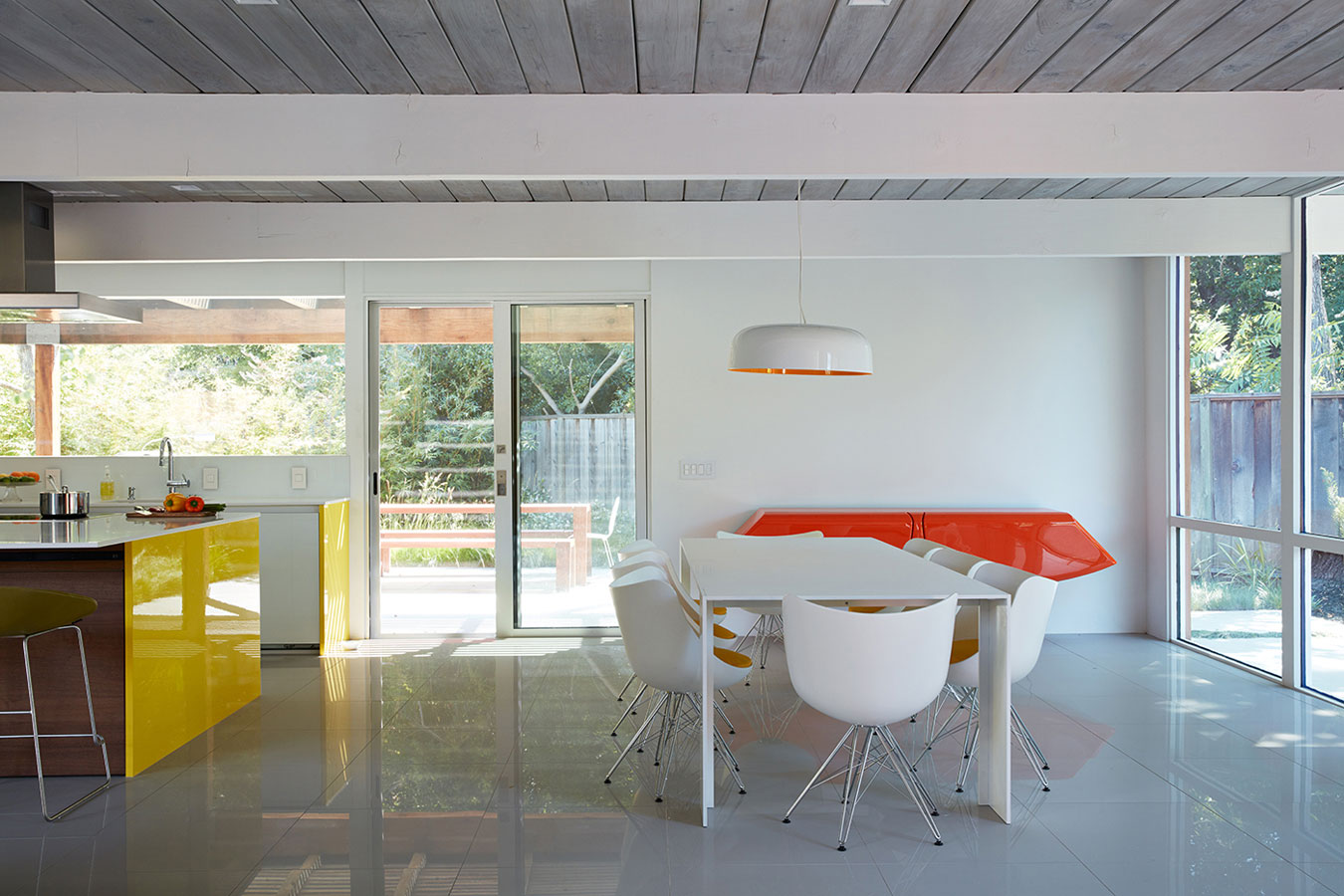 Mountain View Double Gable Eichler by Klopf Architecture (13)