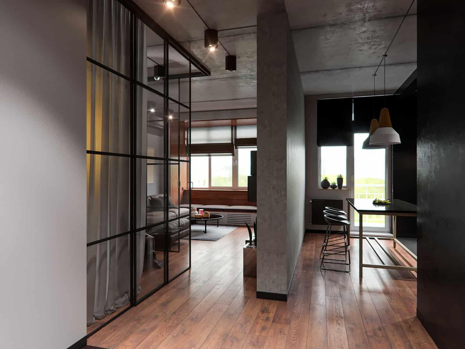 Mooseberry Design Group Creates a Contemporary Interior in Odessa ...