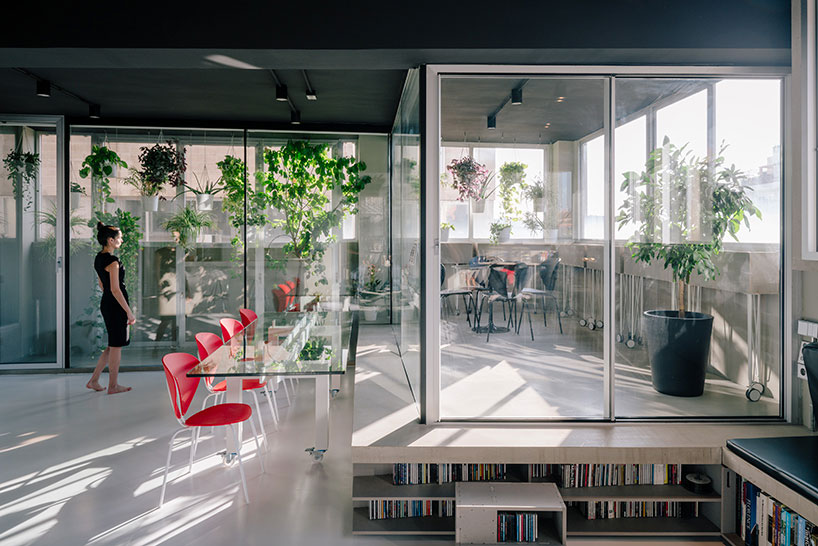 An Industrial Apartment in Madrid, Spain