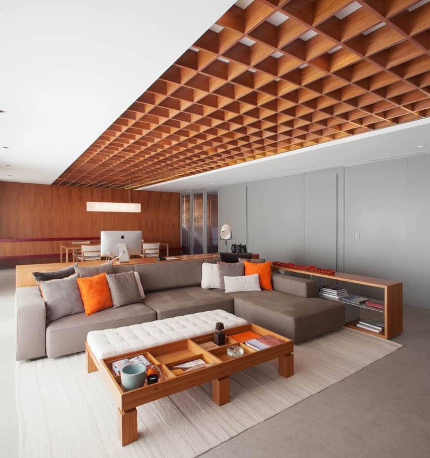 PerkinsWill Design a Unique Contemporary Apartment in