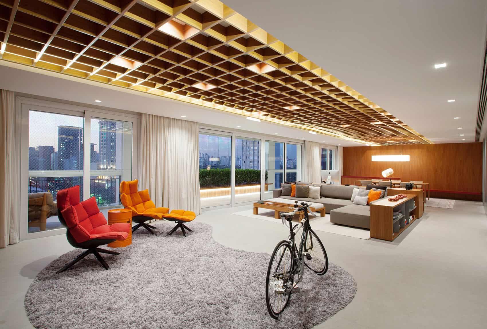 Perkins+Will Design a Unique Contemporary Apartment in São Paulo, Brazil