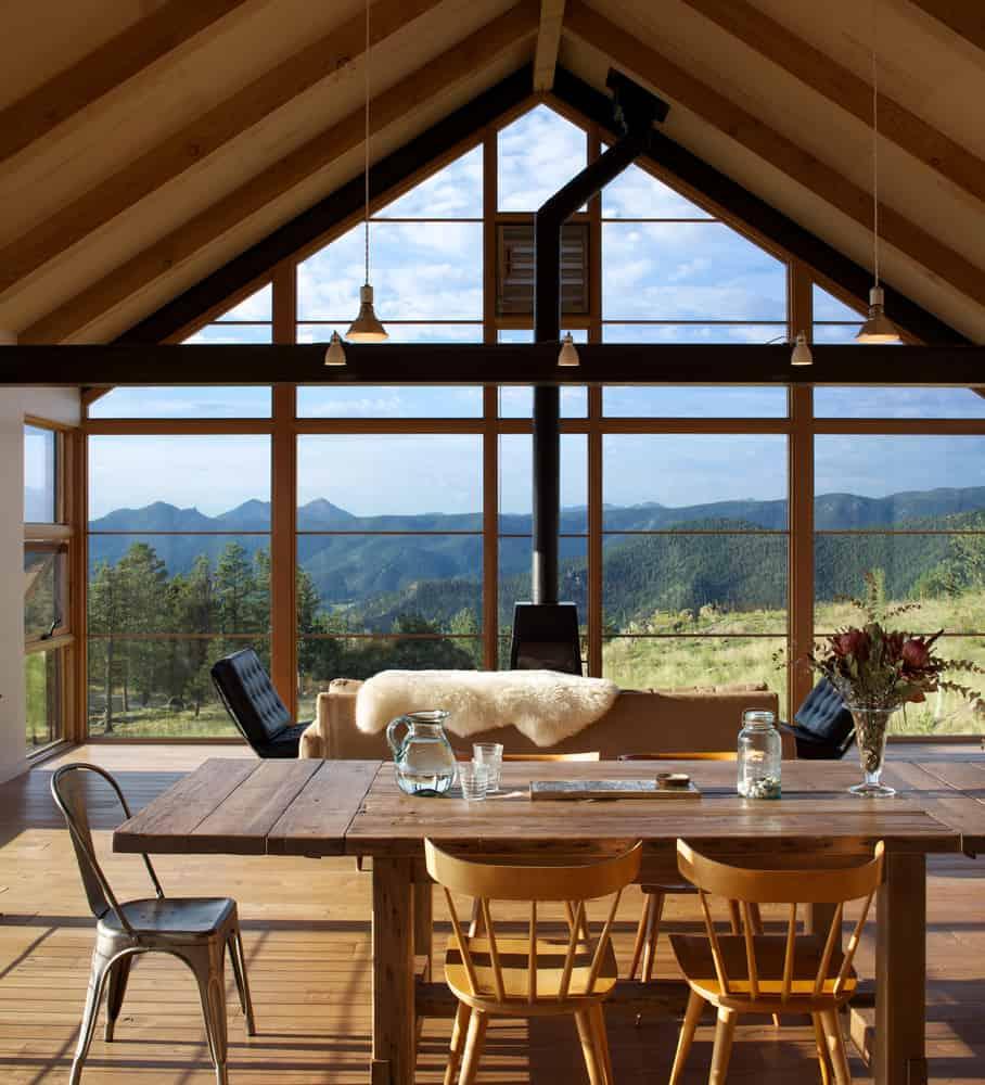 Renée del Gaudio Designs a Sunshine Canyon House in the Boulder Mountains of Colorado