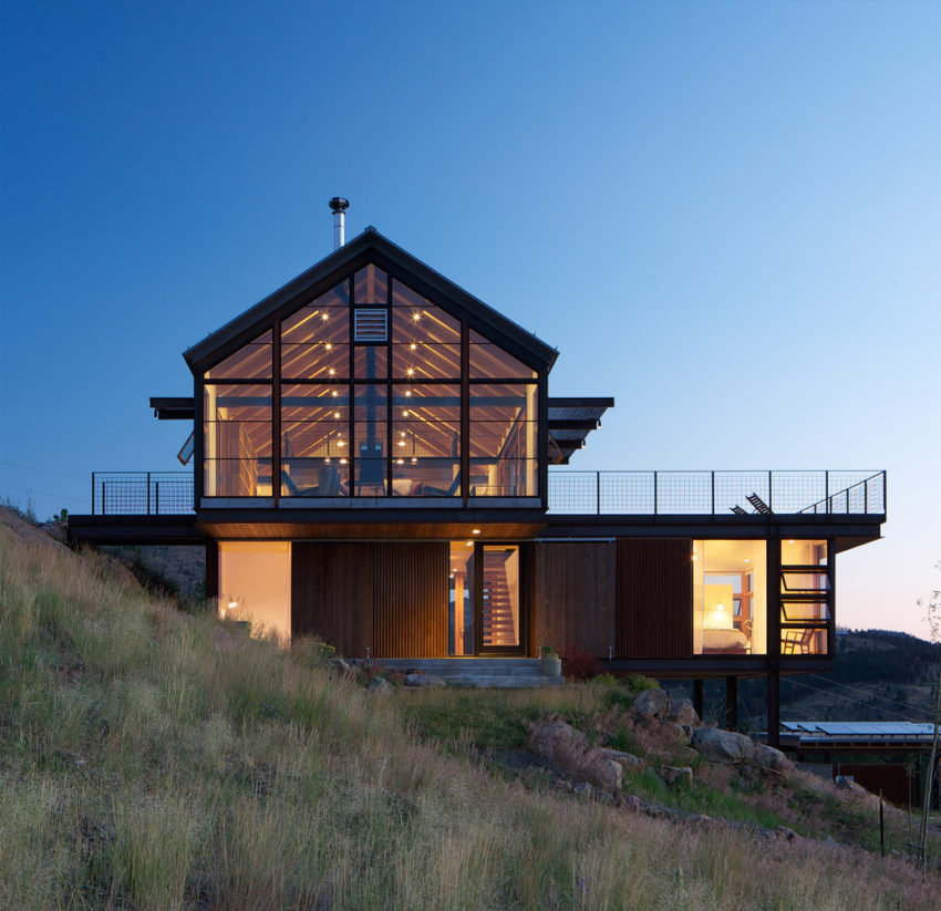 Kitchen Design Center Boulder Co: Renée Del Gaudio Designs A Sunshine Canyon House In The Boulder Mountains Of Colorado