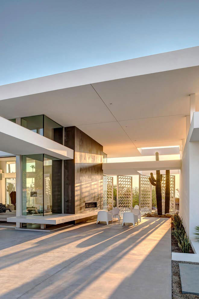 One Story Modern Palm Springs Open House Built By Cioffi