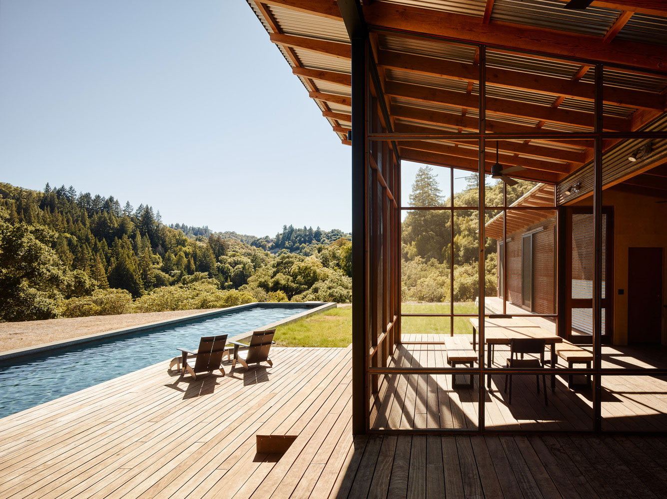 Malcom Davis Architecture Design a Home for Nature Lovers in Healdsburg, California