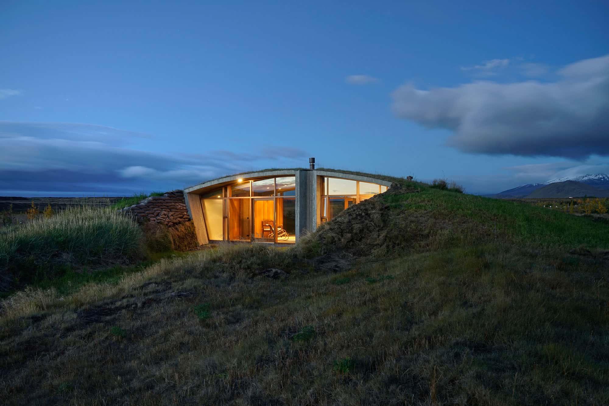 Studio Granda Creates A Contemporary Turf House In