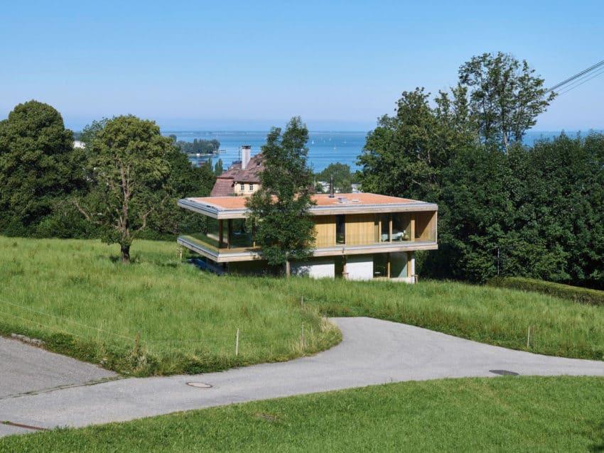 Perfect Dietrich | Untertrifaller Architekten Design A Contemporary Home In  Bregenz, Austria