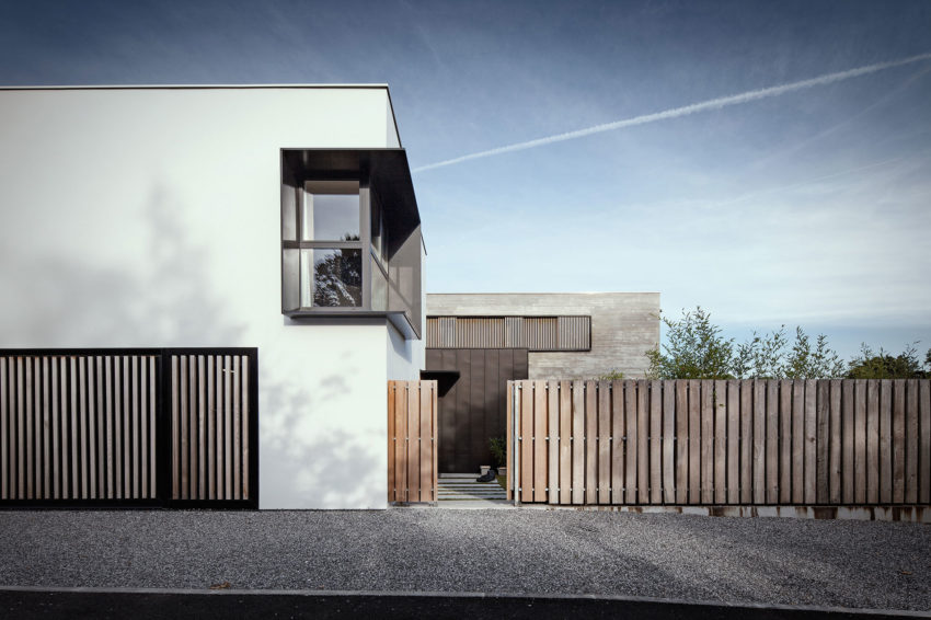 Maison H + L Renovation Combines Three Modules Into One Home