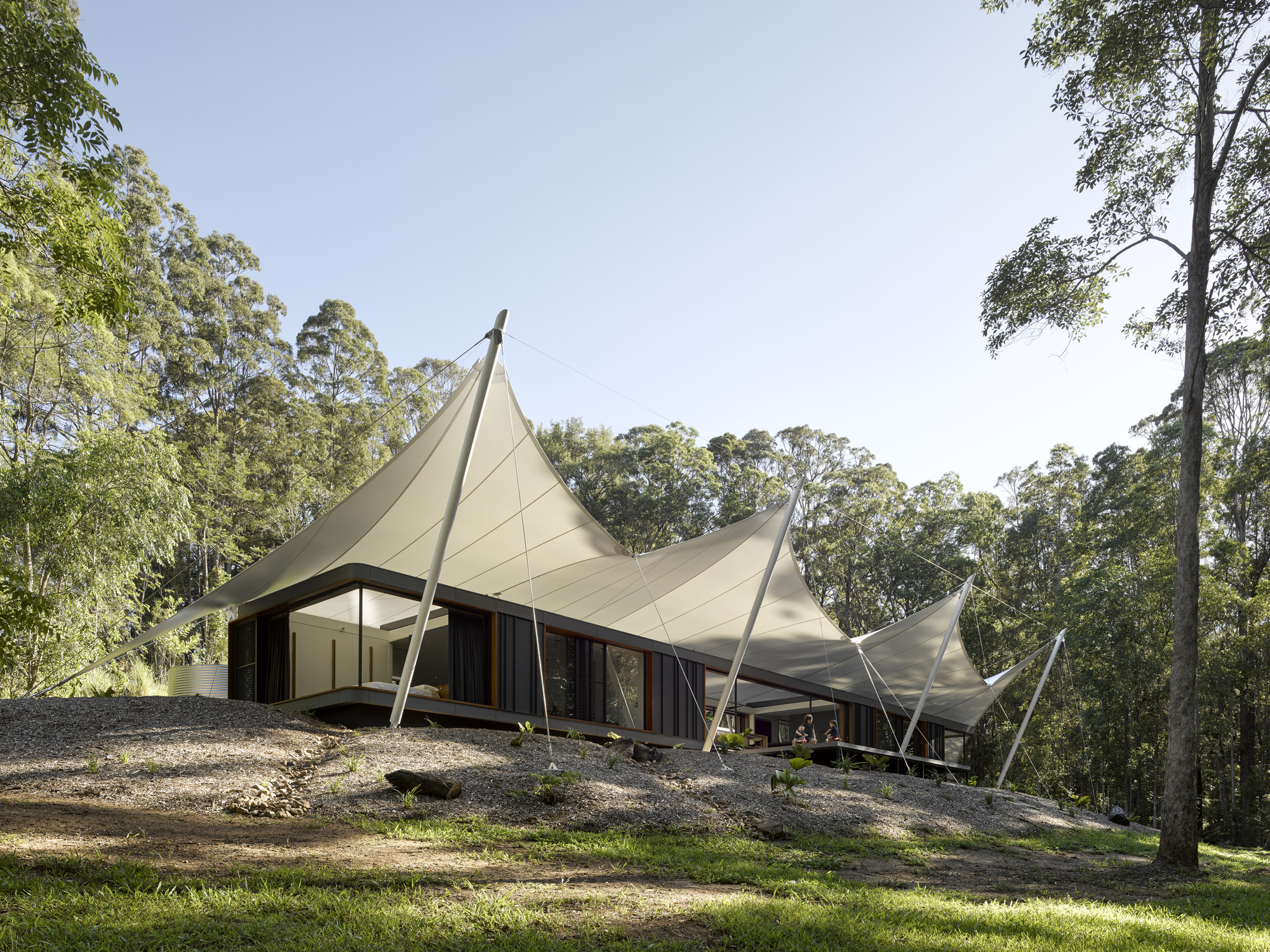 A unique tent house in eumundi australia Tent a house