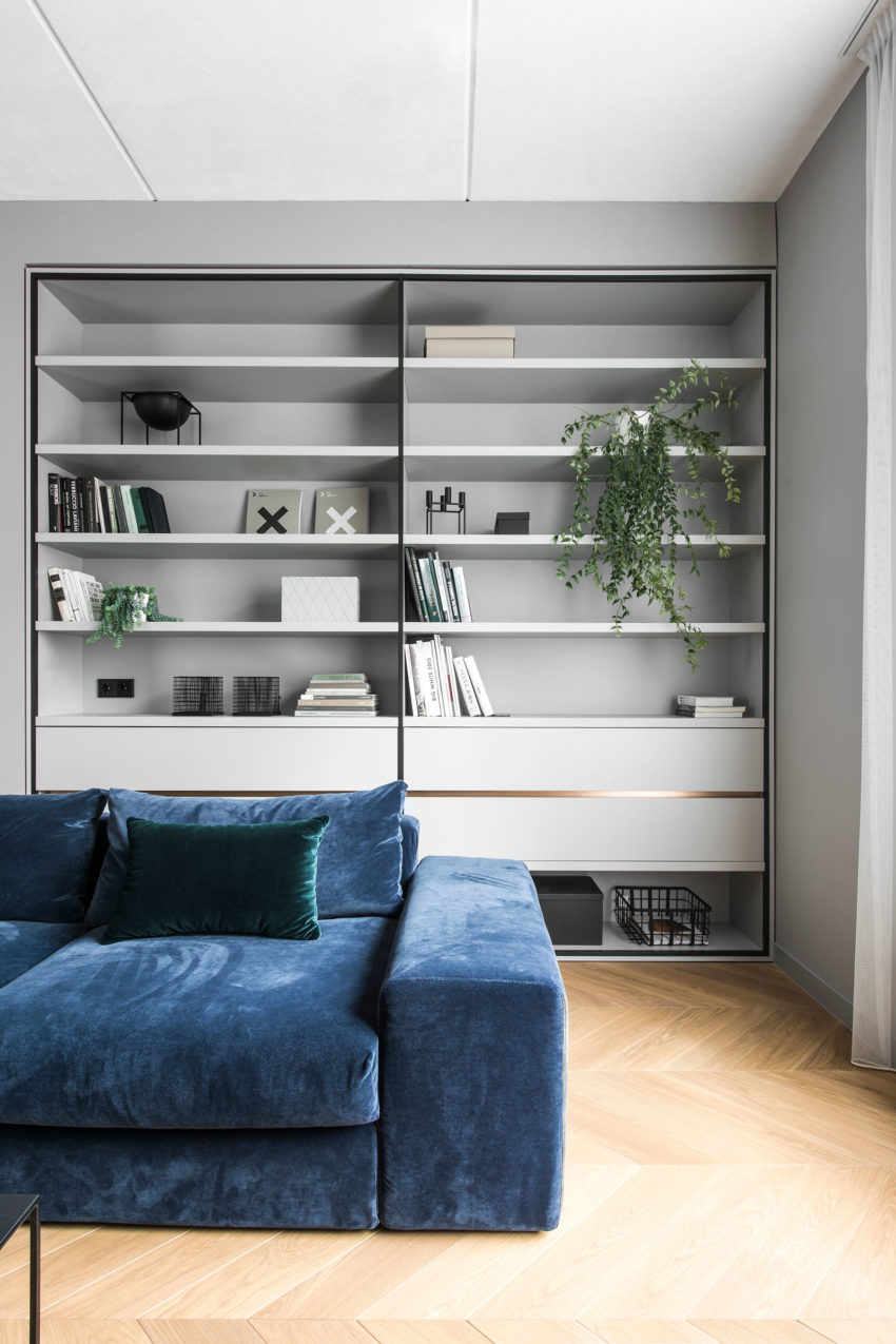 AKTA Interior Design Firm Designs An Elegant Apartment In Vilnius Lithuania