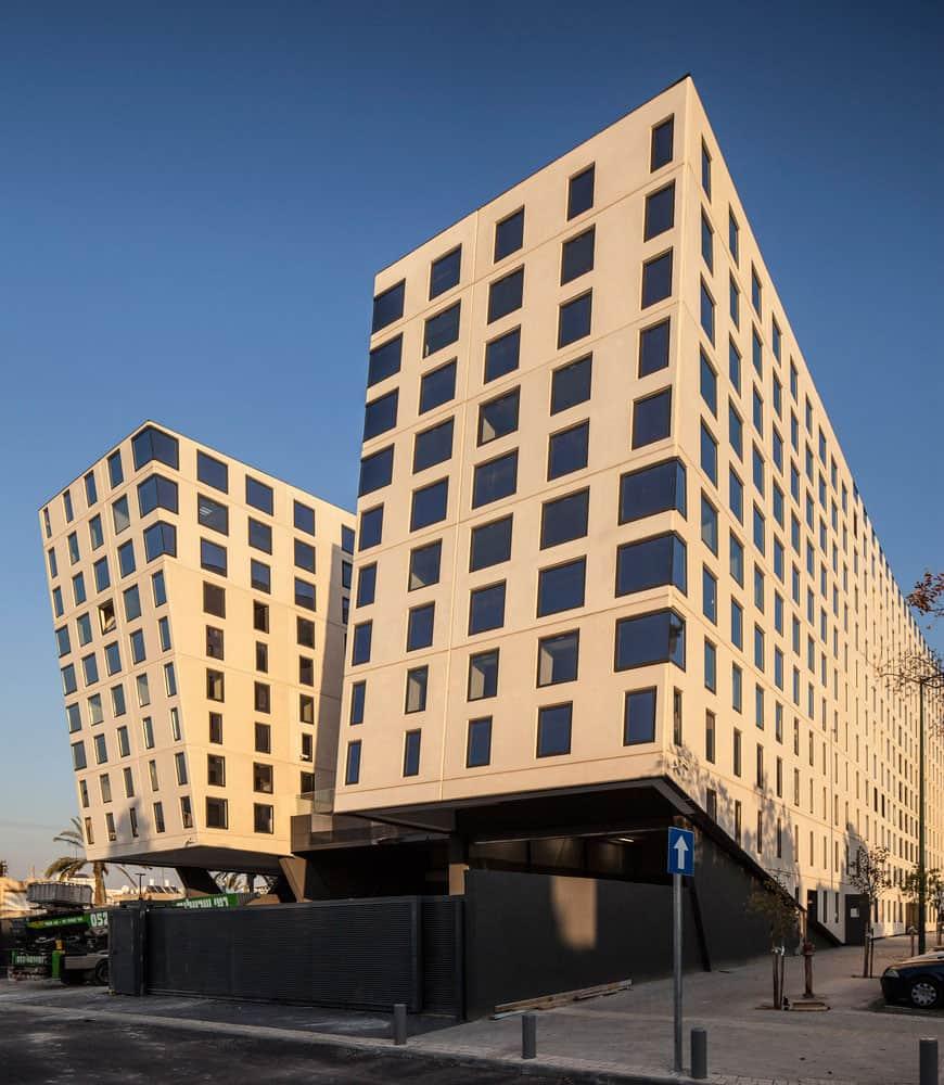 An Impressive Modern Building in Tel Aviv, Israel