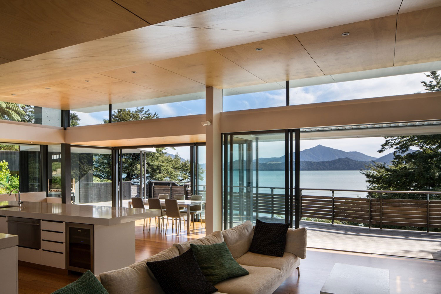 Wonderful Not Only Is It Surrounded By All The Beautiful Mountain Views, But It Also  Sits In Front Of The Sea. Therefore, Every Single Space Of The Home ...