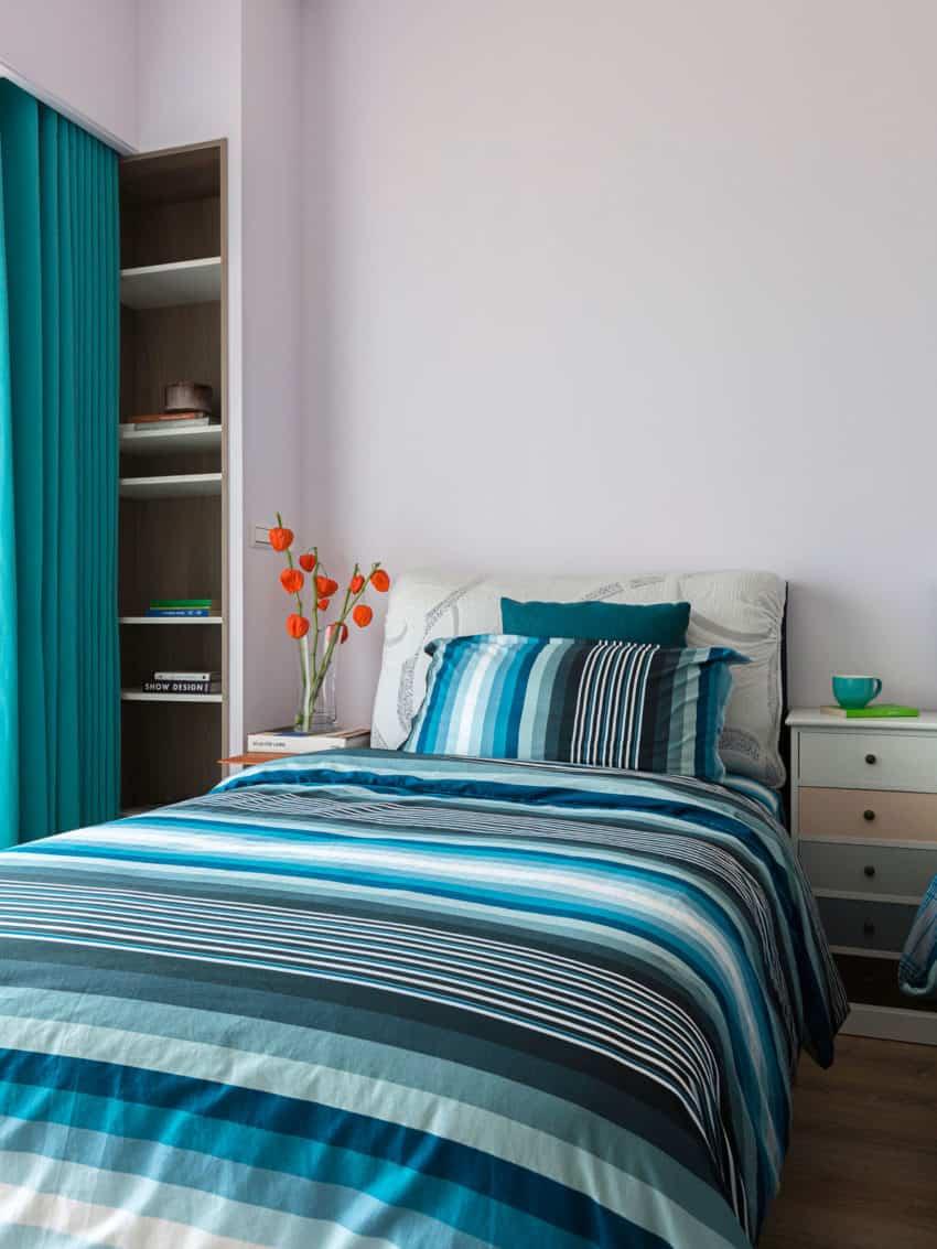 Hozo interior design creates a contemporary home in taipei for Taiwan bedroom design