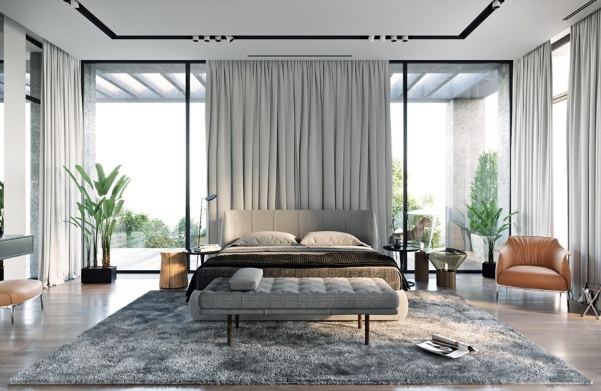 View In Gallery Bedroom With Gray
