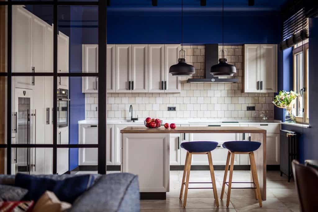 Okasana Dolgopiatova of vo7 Designs a Stylish Upscale Apartment in Kiev, Ukraine