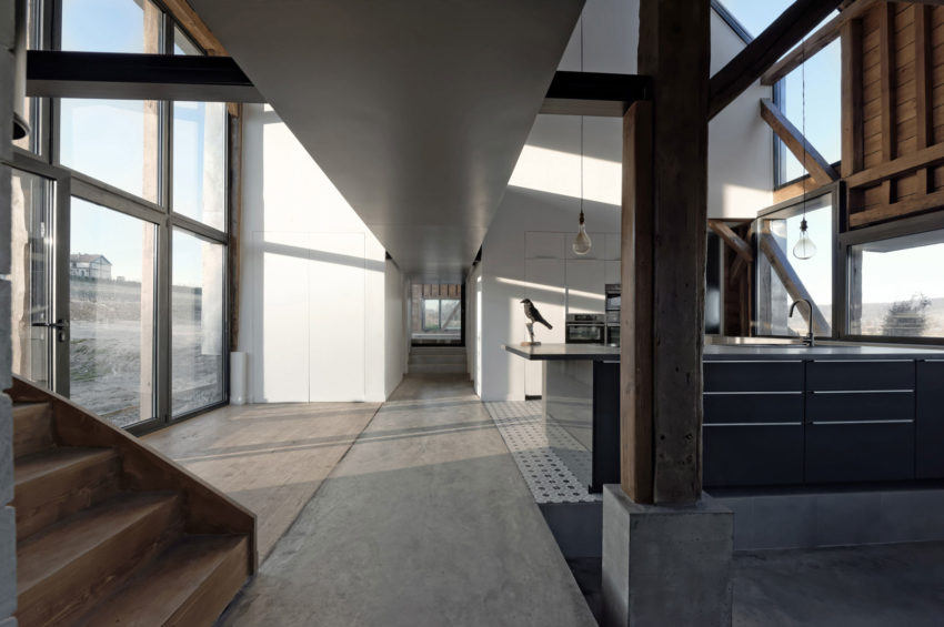 Architectural Studio Ziegler Converts An Abandoned Barn Into A