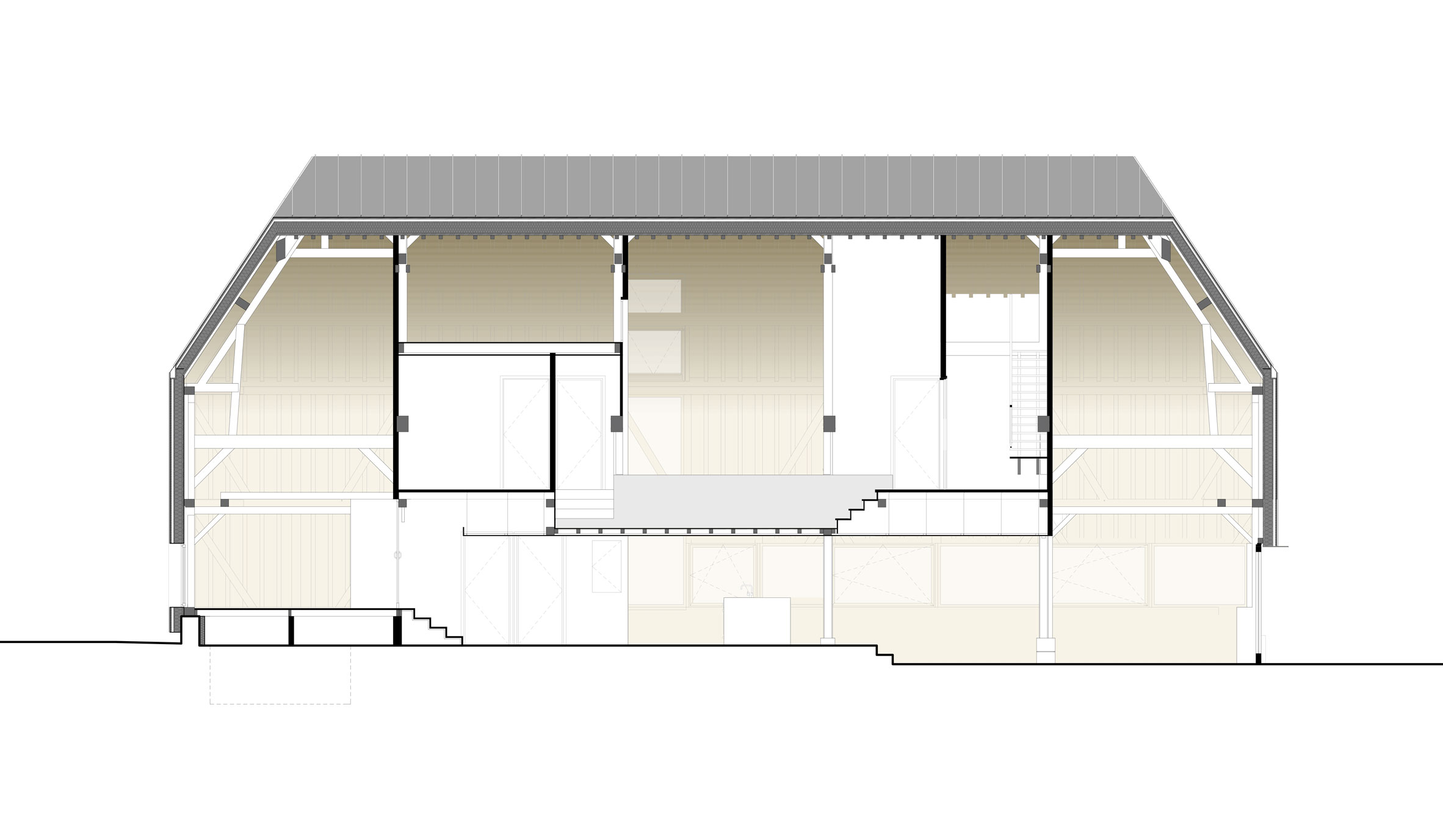 Architectural Studio Ziegler Converts an Abandoned Barn into a Private Home