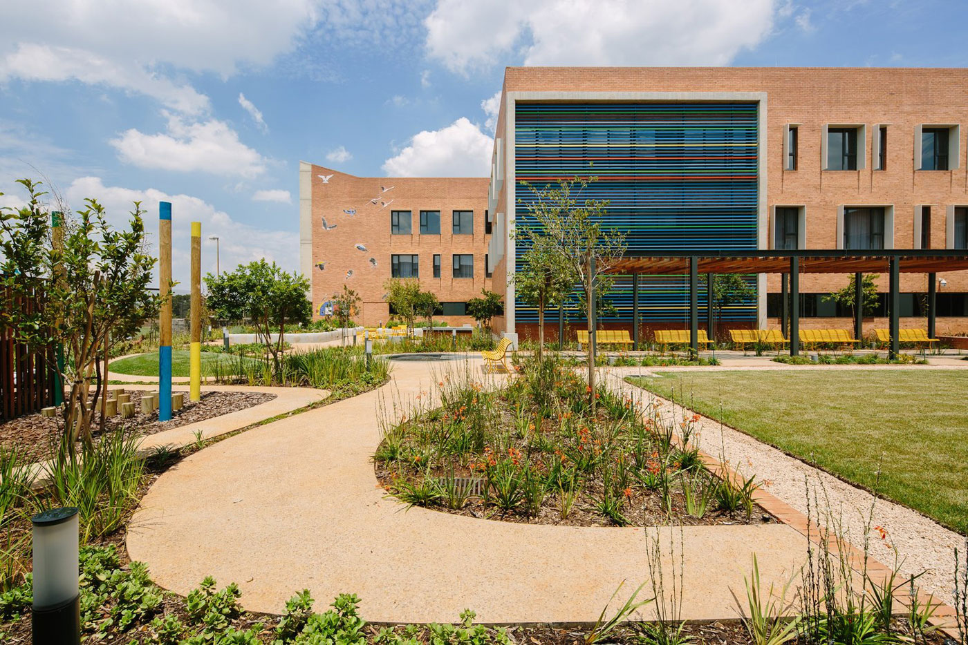 Nelson Mandela Children S Hospital By Four Architectural