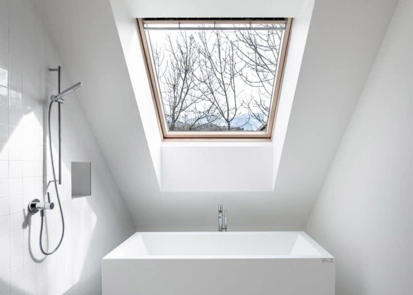Skupaj Arhitekti Designs an Alpine Village Home with a Contemporary ...