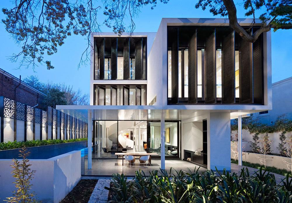 Robert mills architects design a sumptuous family home in toorak australia