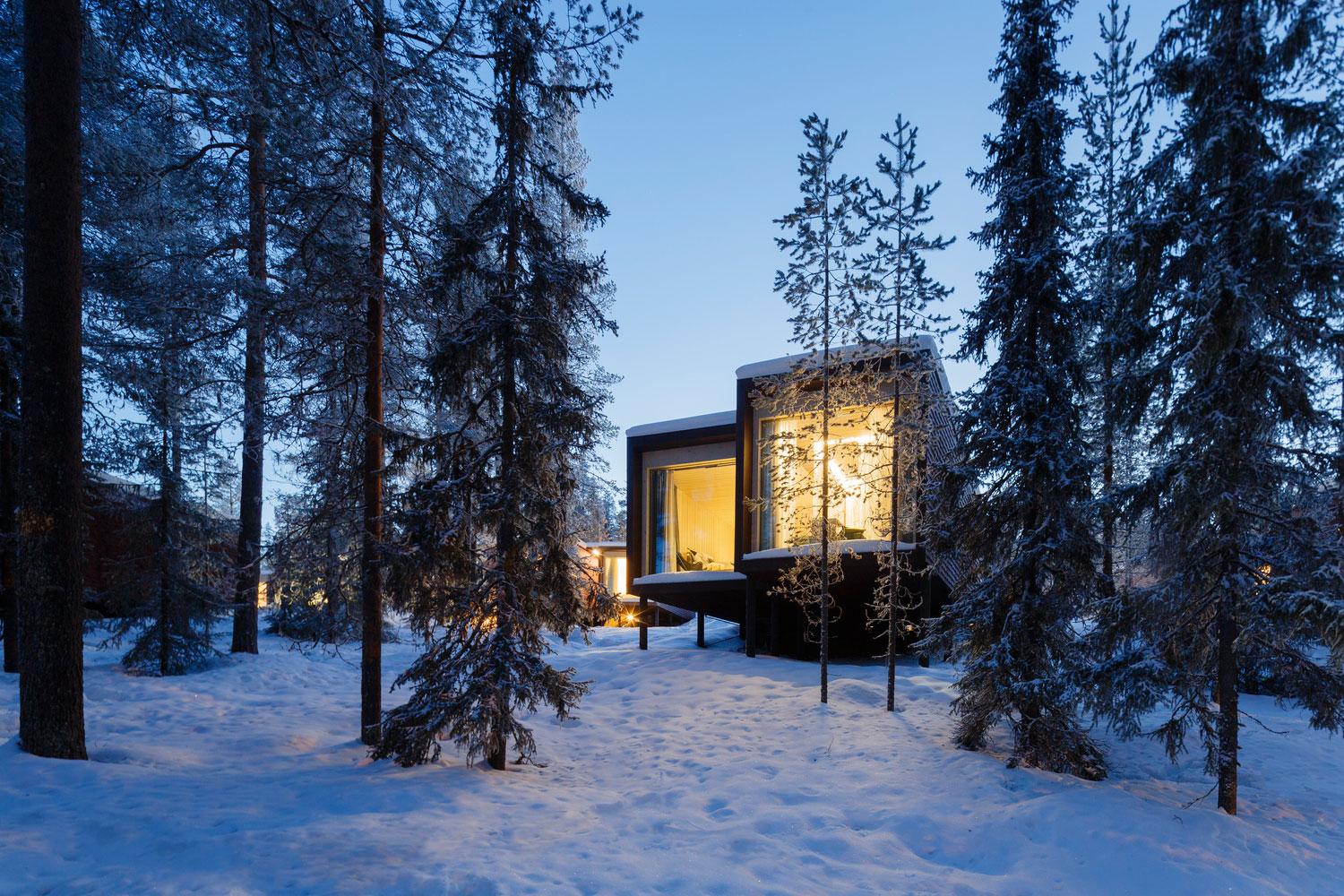 Studio puisto have designed a stunning and incredibly for Arctic house design
