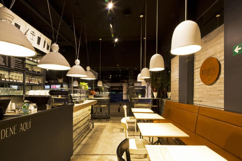 Small Caf 233 Located In Mexico City Designed By Bou 233 Arquitectos