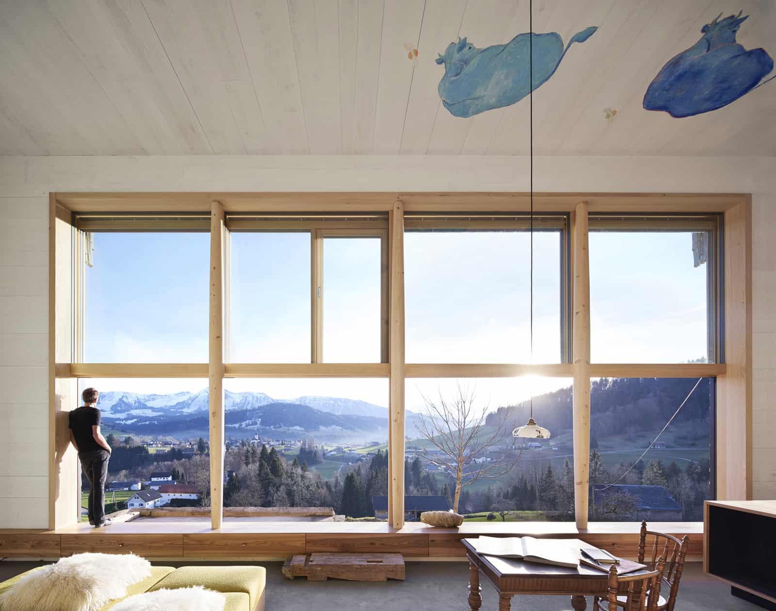 Loft with Wonderful Views of the Mountains in Hittisau, Austria
