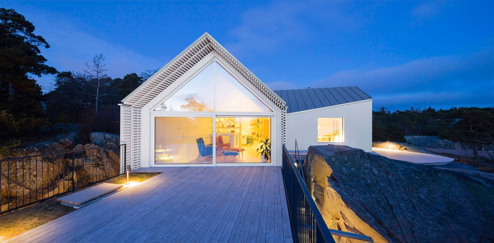 Beautiful Villa Located in Hanko, Finland Designed by Mer Arkkitehdit