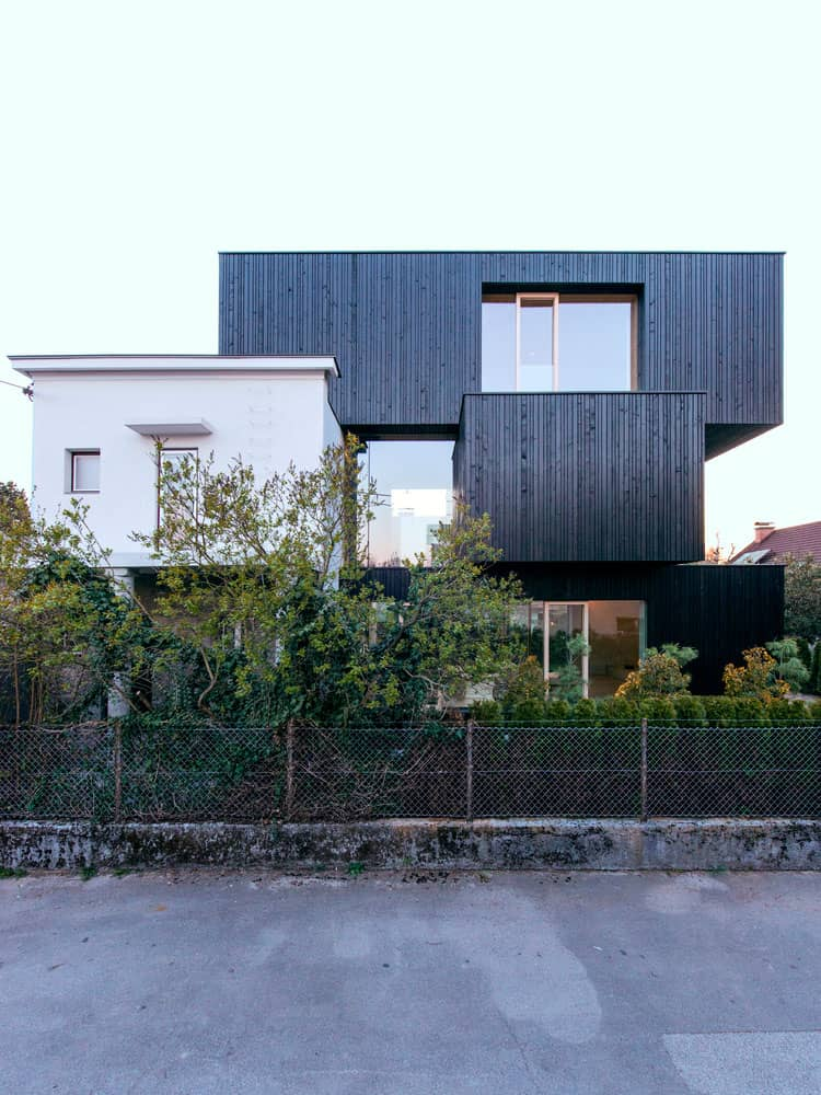 Contemporary Home Located in the Trnovo District of Ljubljana, Slovenia