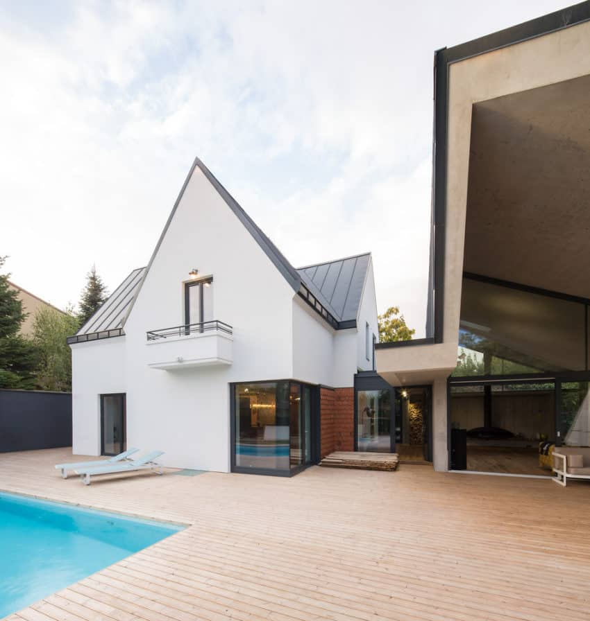 Modern Extension to a Home in Bucharest, Romania