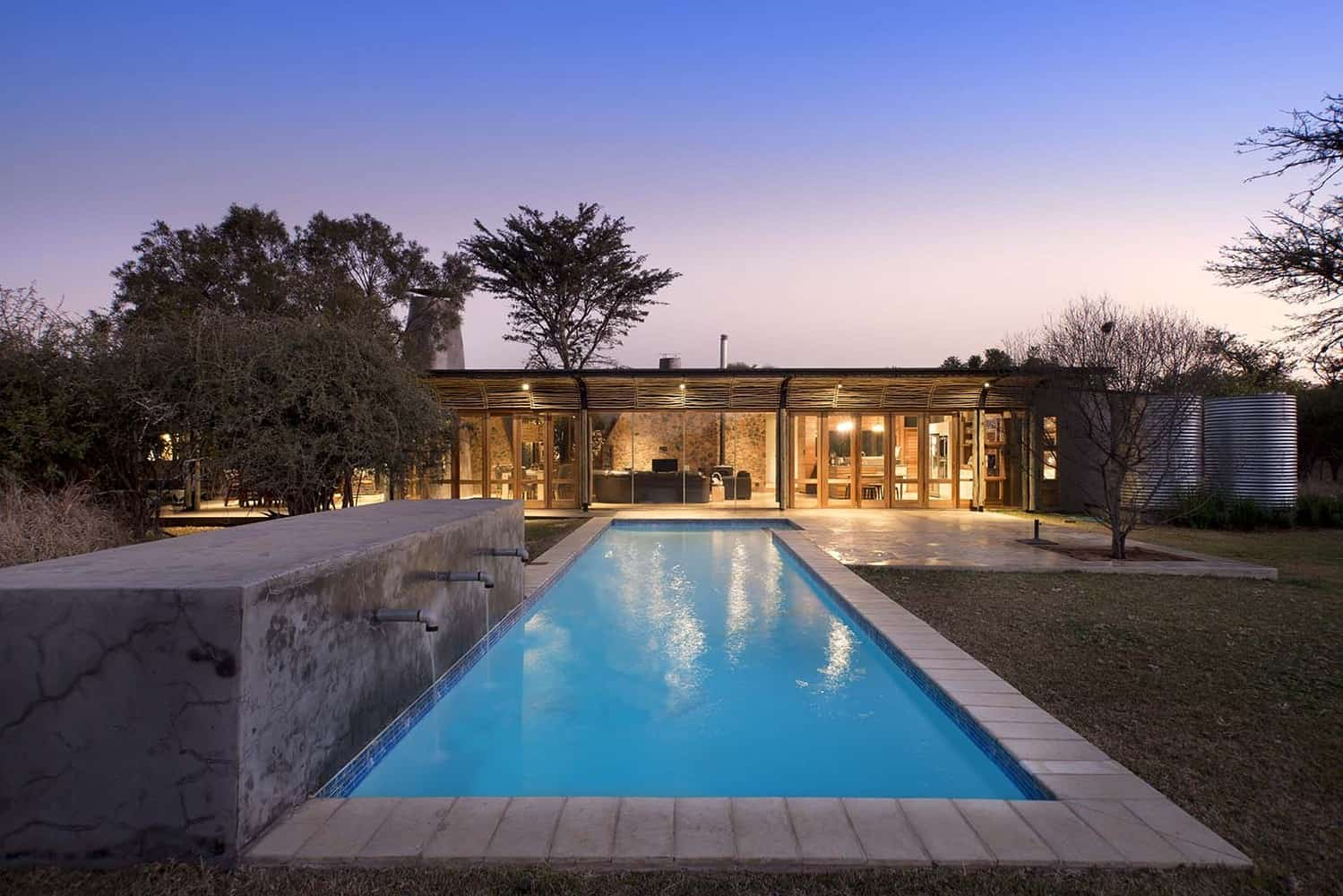 Home designed by earthworld architects in pretoria south africa