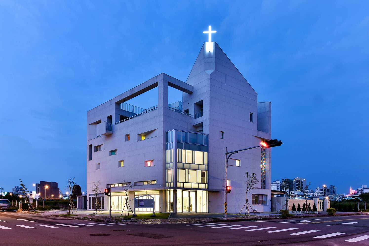 Church Located in Taichung City, Taiwan Designed by JYCArchitect + DCDAssociates