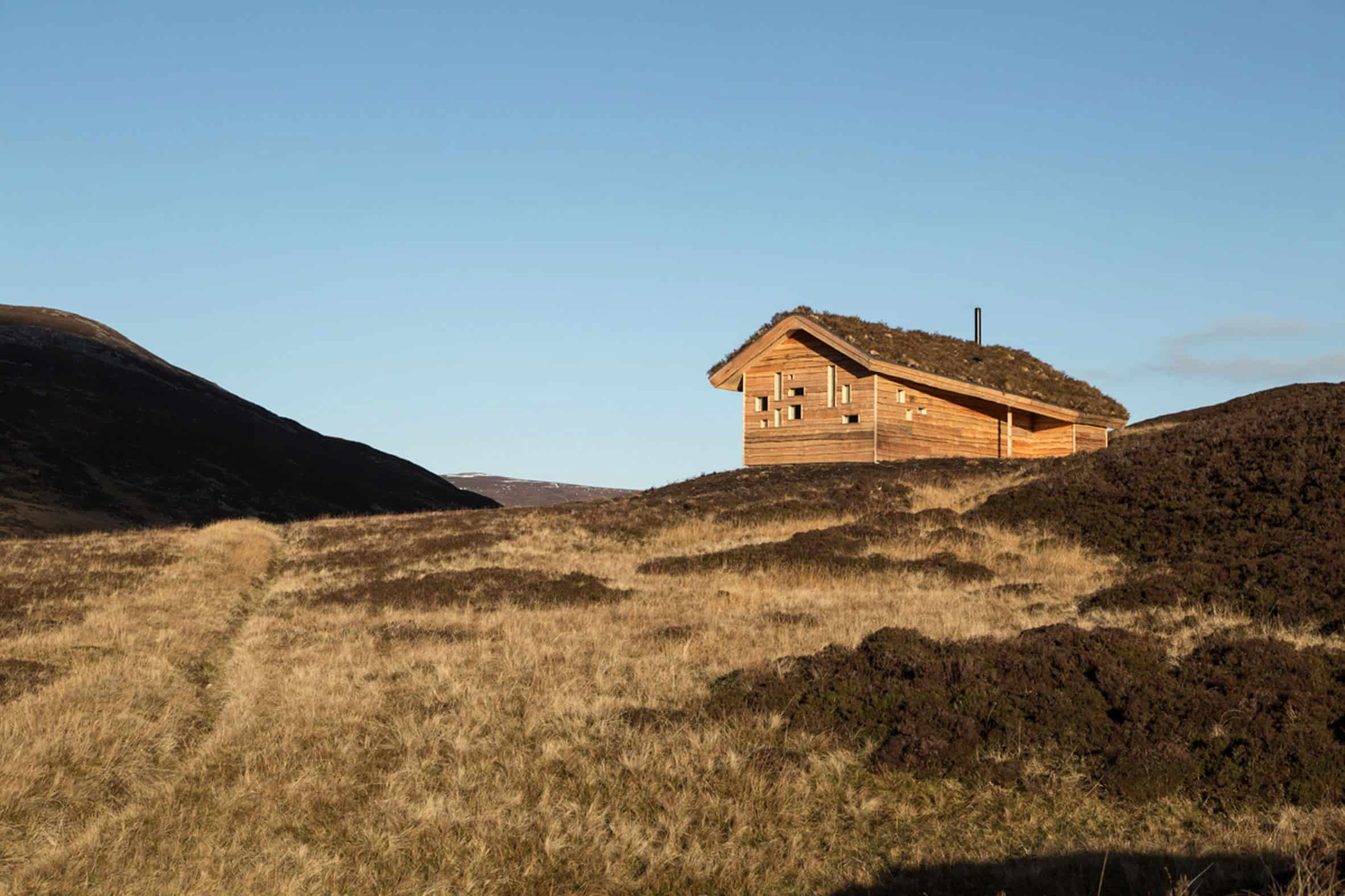 Small Cabin located in Scotland's Cairngorms National Park