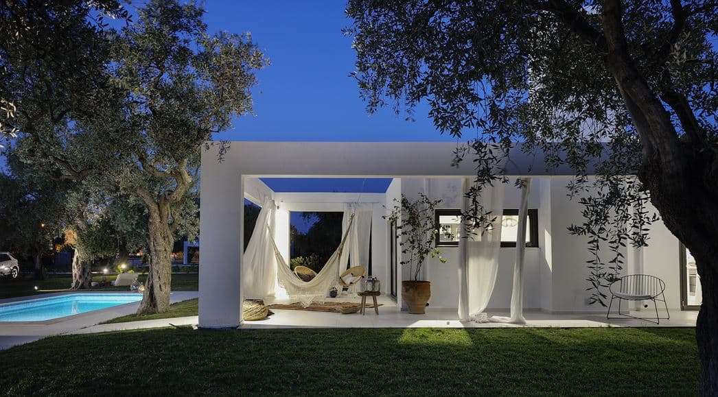 Refreshing House Designed by Ark4lab of Architecture in Thassos, Greece