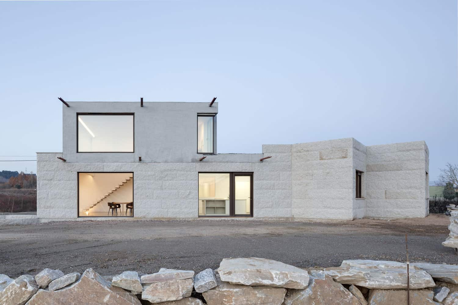 Simple and Rustic House Located in León, Spain
