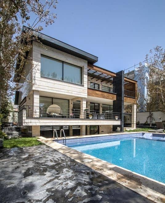 Contemporary Home Designed by DASH Office in Tehran, Iran