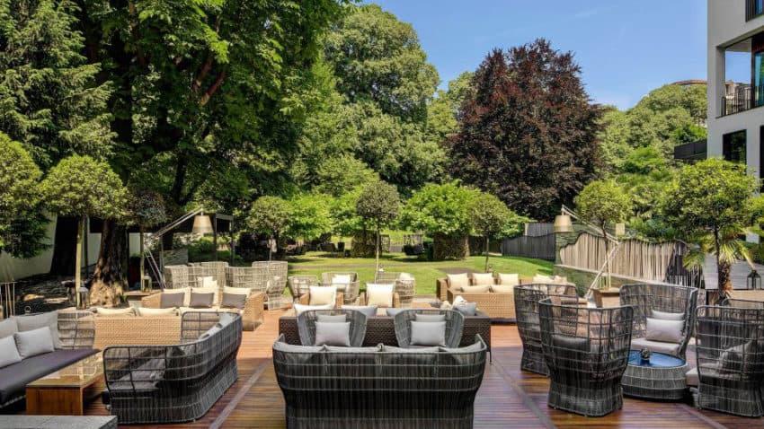 Refined and elegant bulgari hotel in the city of milan italy - Hotel due giardini milan italy ...