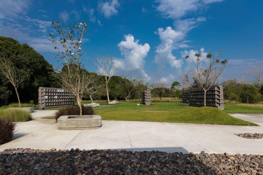 Funerary Garden Located in Veracruz, Mexico