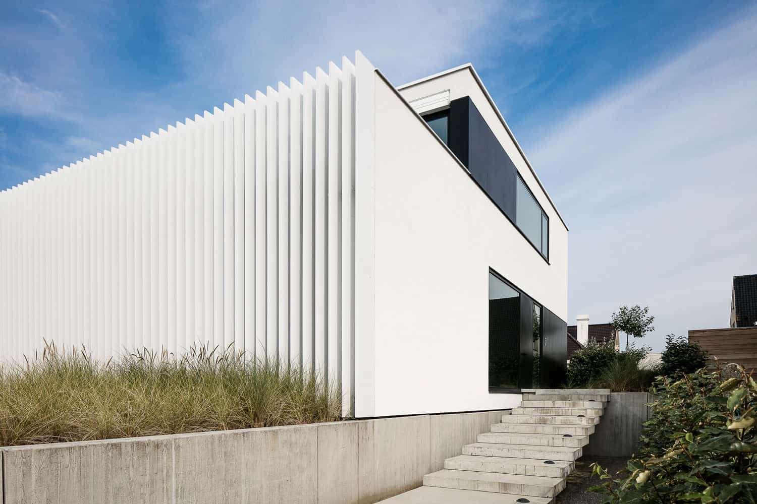 Beach House Designed by CUBYC Architects on the Coast of Belgium