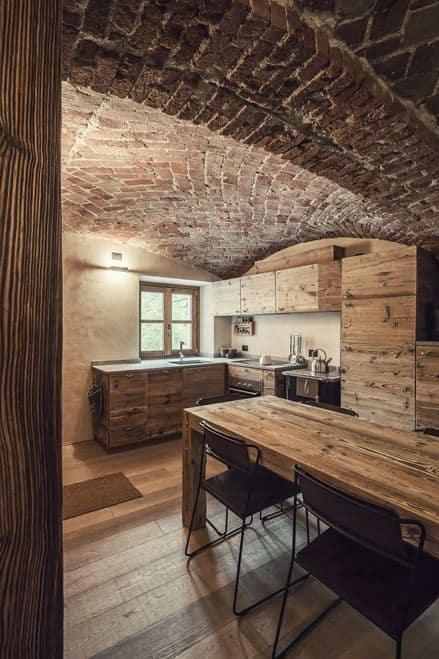 Wooden Hut Designed by Interior Design JCC in Italy