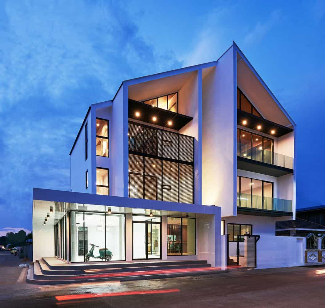 Contemporary House Designed by the Thai Architectural Firm Sute Architect