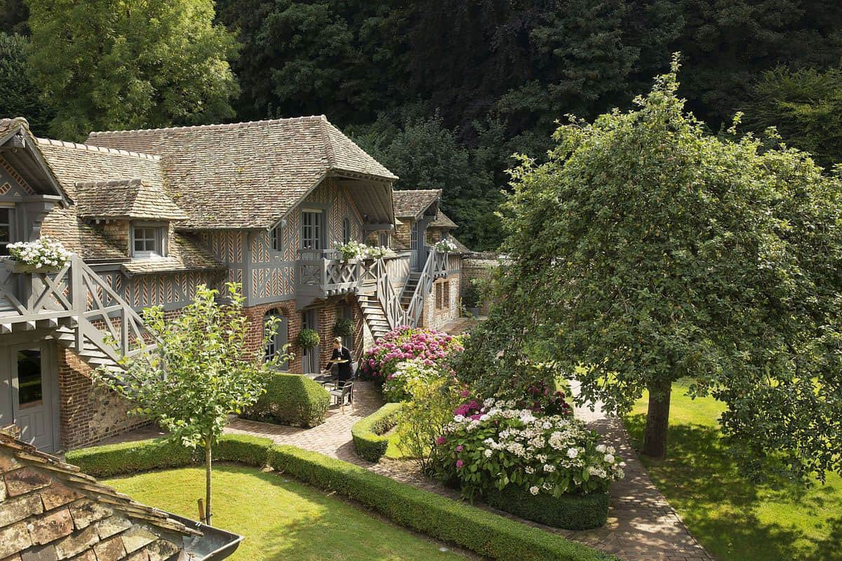 Luxurious and Enchanting Hotel in Normandy, France from the Seventeenth Century