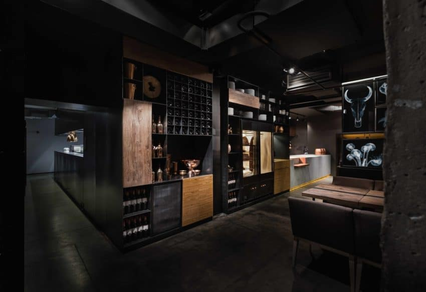 Restaurant Interior Design By YOD Lab In The Ukraine