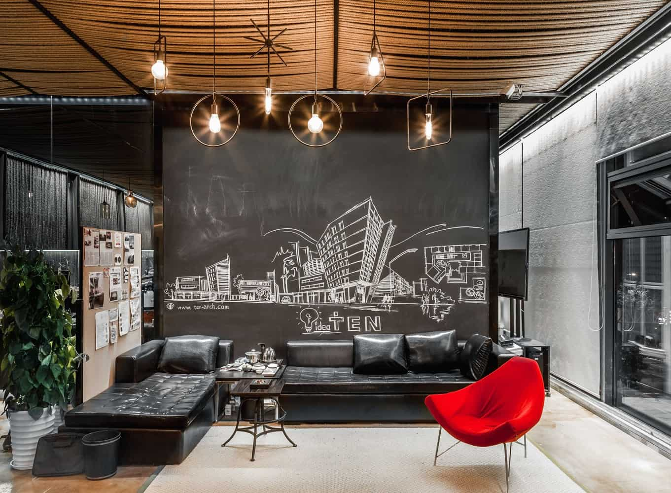 Office Space Designed By Usual Studio + Ten Arch In The QSW Culture Center  In Shanghai, ...