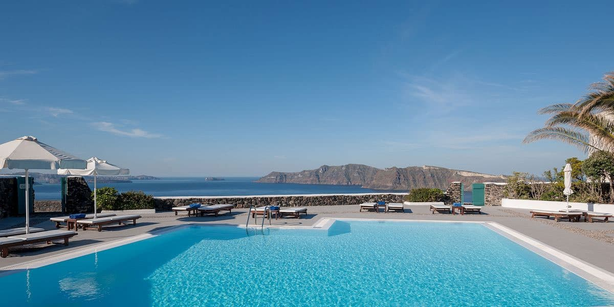 Romantic Resort in Oia, Santorini, Greece