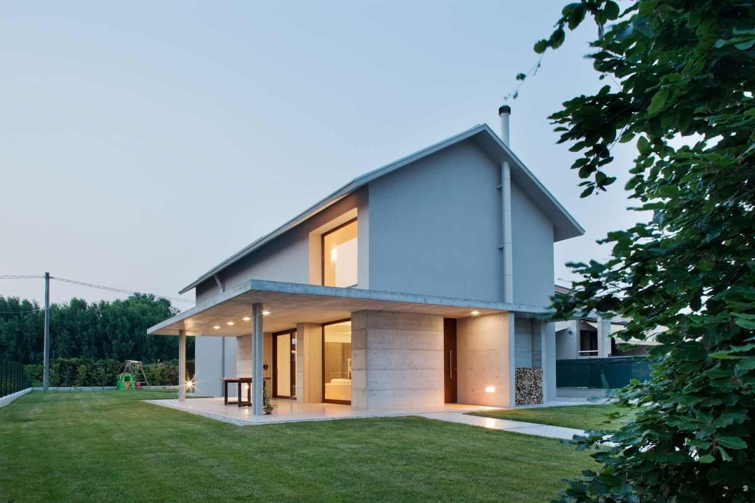 Residential HOME Designed by MIDE Architects, in Italy