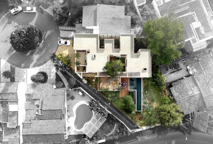 A Garden House Designed By The Firm Connatural In Medellin